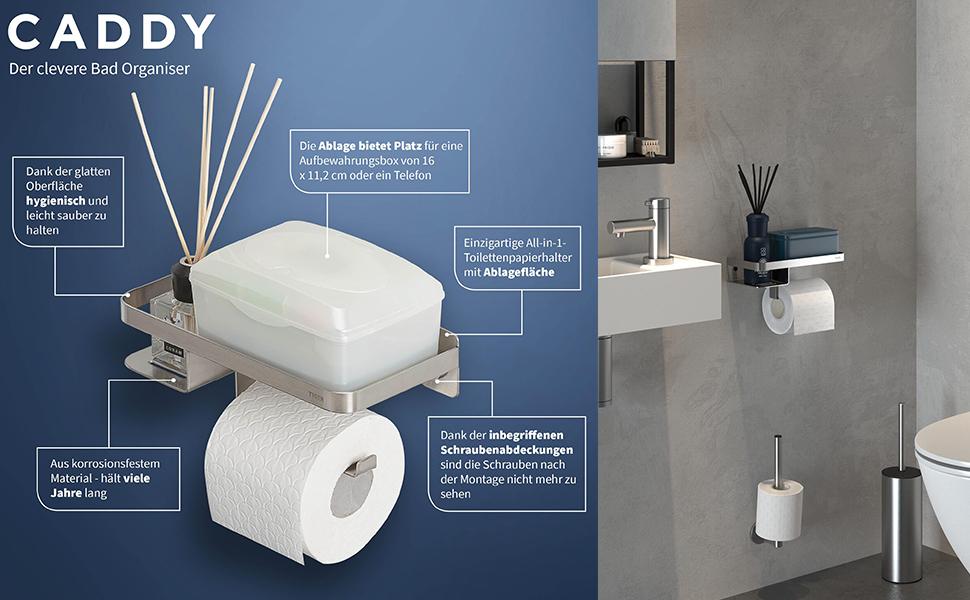 tijger, caddy, toiletpapierhouder, toiletrolhouder