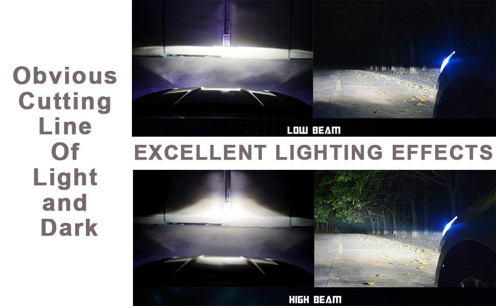 h13 led headlight blubs