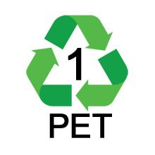 PET 1 Recycle Symbol