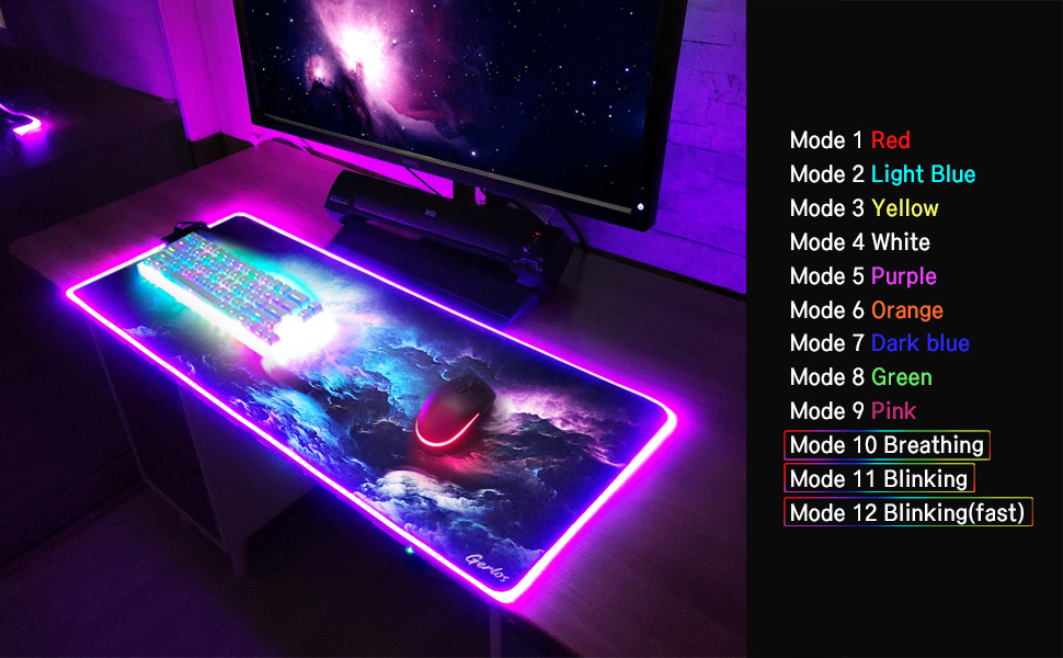 large rgb gaming mouse pad mouse pad material mouse mat gaming mousepad rgb pc gaming mouse pad