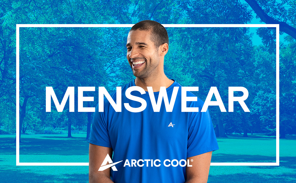 Arctic Cool Instant Cooling Shirt for Men