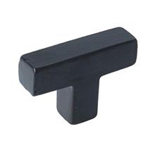 T-greep ijzer zwart