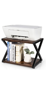 desktop printer shelf