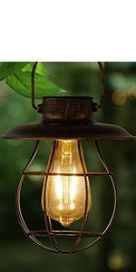 solar lanterns hanging