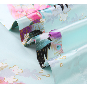 short kimono robe