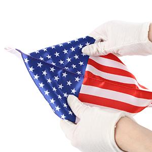 harley motorcycle  US flag