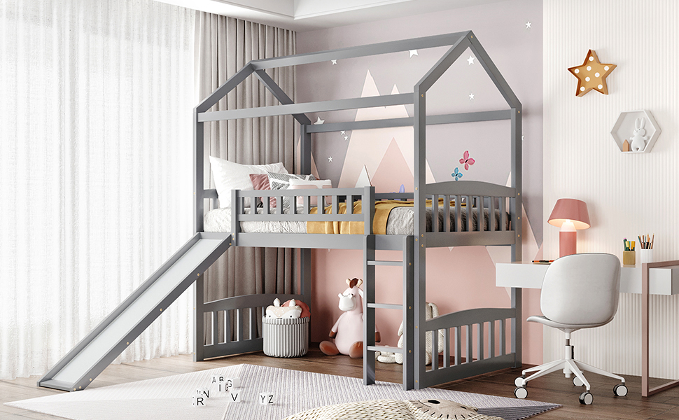 House Bed with Slide