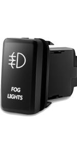Fog Lights Symbol Push Button
