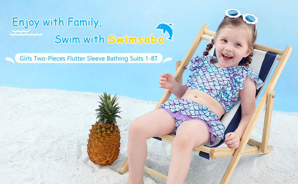 girls swimsuits 1-8T