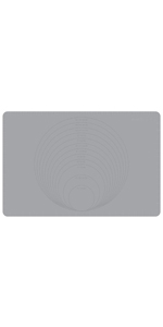 Baking Mat With Measurements Dough Rolling Mat Silicone Pastry Mat