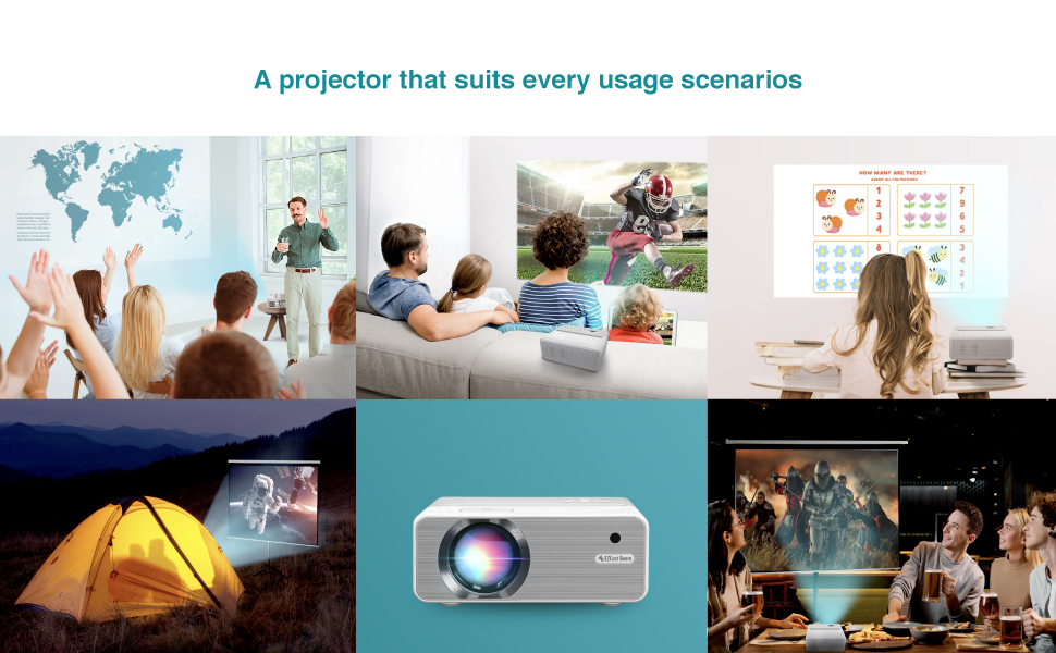 A Projector that suits every usage scenario