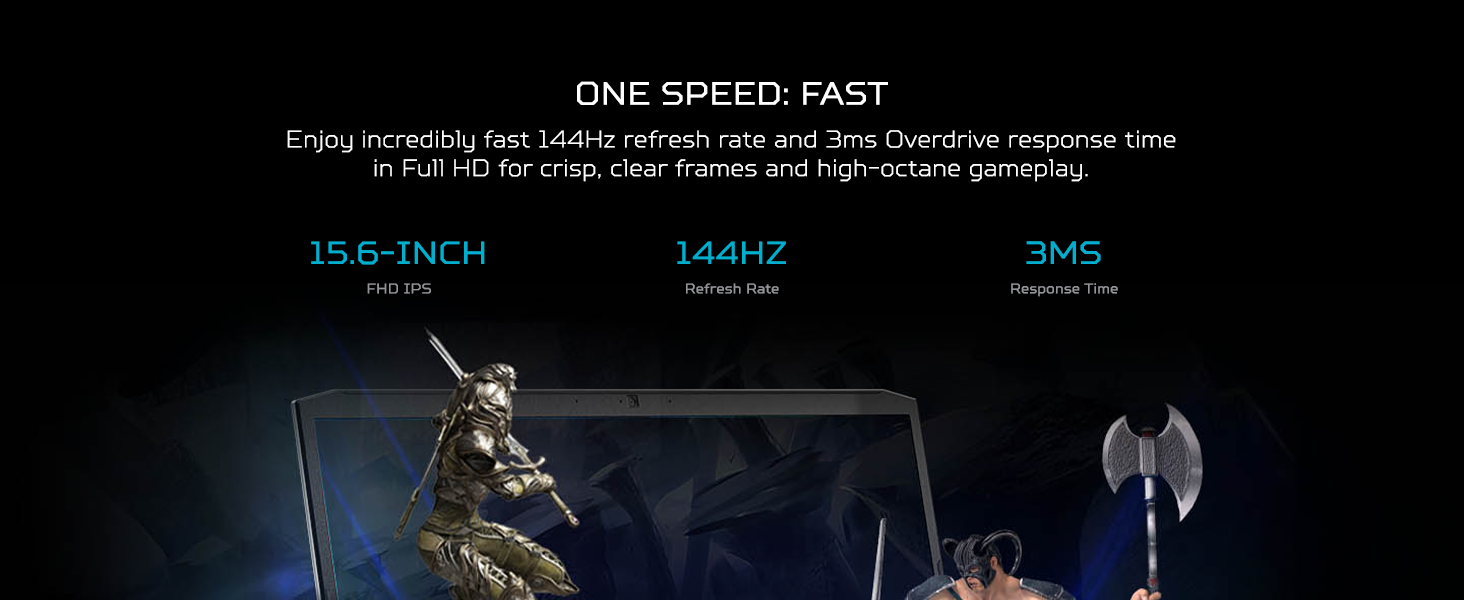 fhd full hd ips display widescreen 144hz refresh rate 15 inch 3ms overdrive response aspect ratio