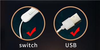 Switch amp; USB