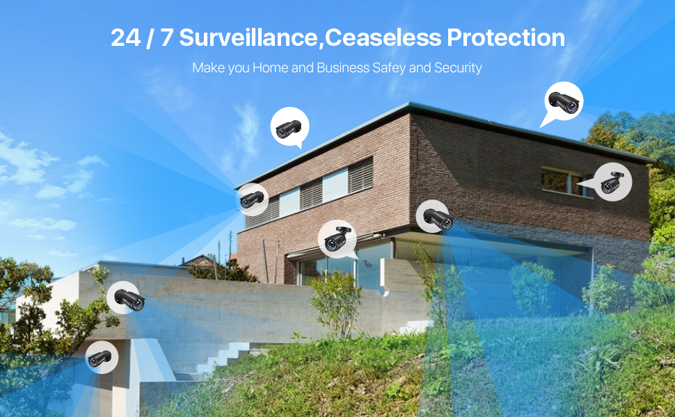 24/7 surveillance protection