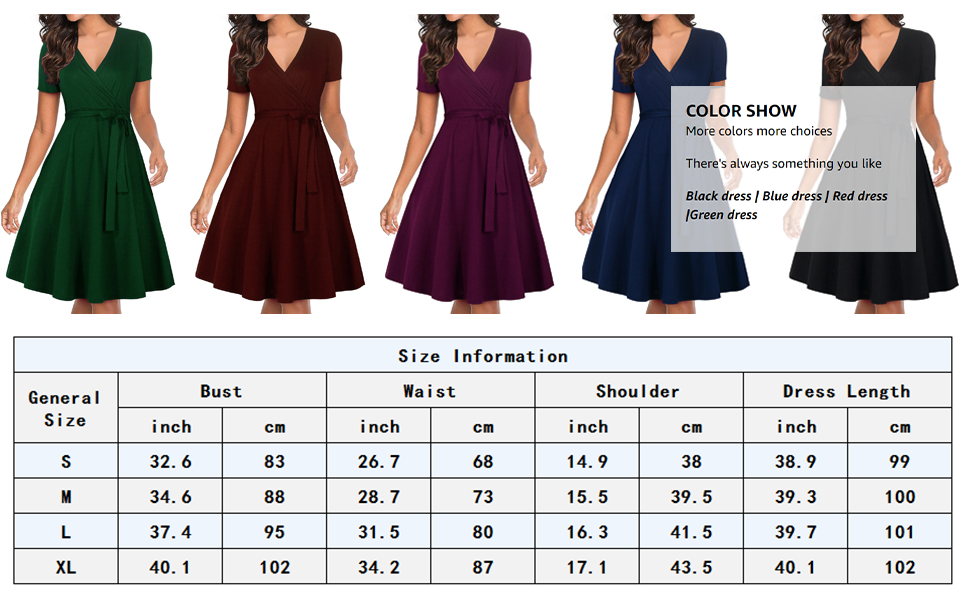 Color Showamp;Size Information