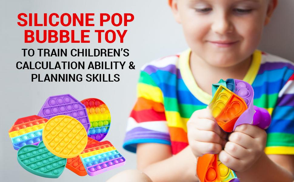 push pop bubble fidget sensory toy simple dimple fidget toy stress toys fidget toy pack