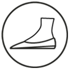 Insole Arch Support Provides Stability