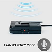 Transparency Mode, Smart mic, ambient sound