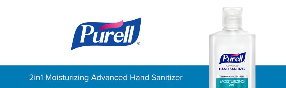 2in1, purell, hand sanitizer, moisturizing hand sanitizer
