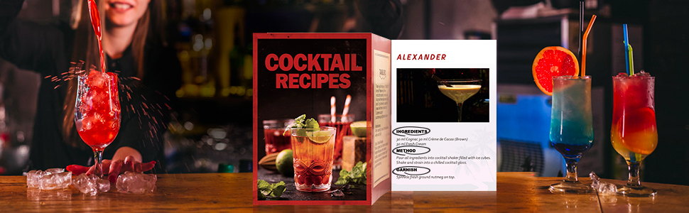 Detailed and Clear Cocktail Recipe for Easier Drink Mixing