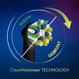 CleanMaximiser borsteltechnologie*