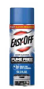 easy off no fumes fume free max oven cleaner for self cleaning oven ez off professional nontoxic