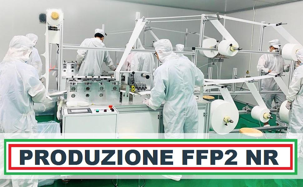 PRODUZIONE MASCHERINE MADE IN ITALY