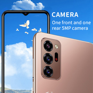 One front and one rear  camera