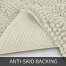 anti-skid backing