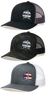 LARIX Old Glory Mountain Trucker Hat