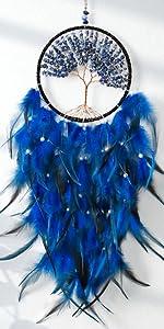blue dream catcher