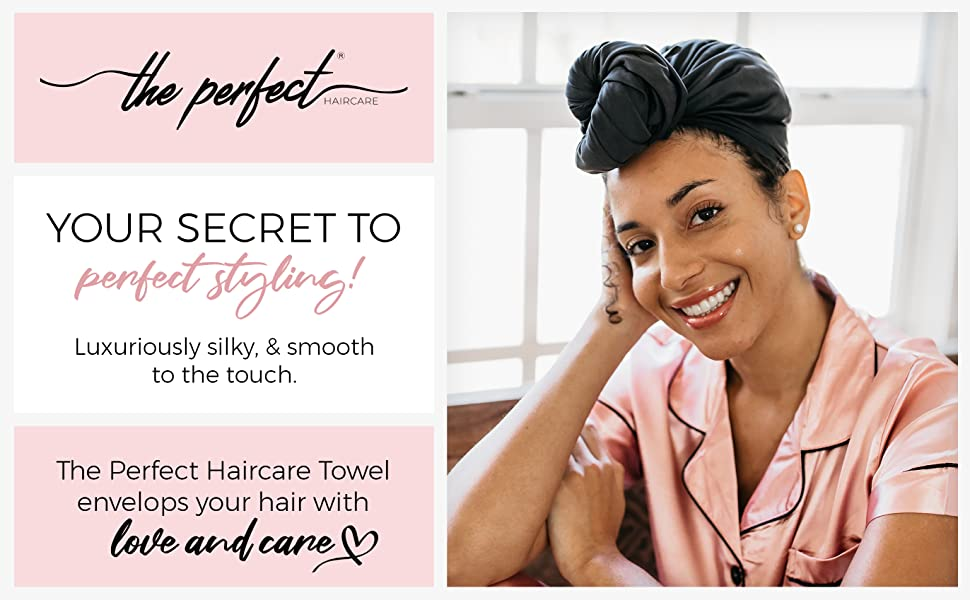 The Perfect Haircare - Your Secret to Perfect Styling