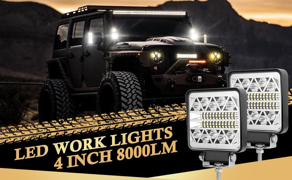 4INCH LED WORK LIGHTS