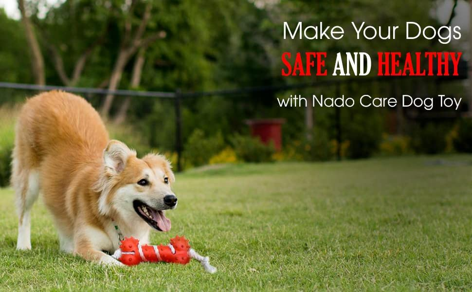 Nado Care Dog Toy for Aggressive Chewers