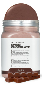 Sweet Chocolate Avery Rose Peel-Off Jelly Mask Premium Rubber Mask Spa Set for face amp; Vajacial