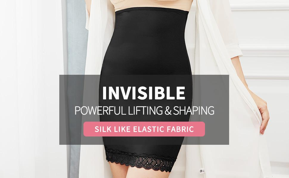 High Waist Half Slips for Women Under Dresses Tummy Control