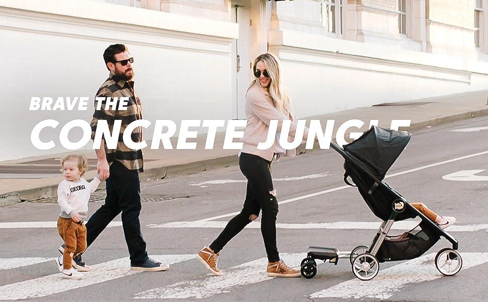 Brave the Concrete Jungle