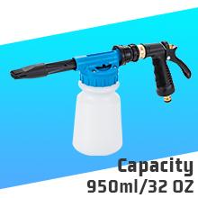 Bottle Capacity