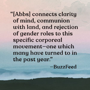 BuzzFeed quote on background of adapted cover art from Windswept