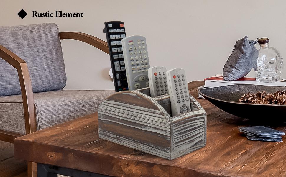 wood remote control holder remote control organizer remote control caddy