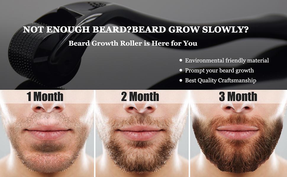 beard growth roller