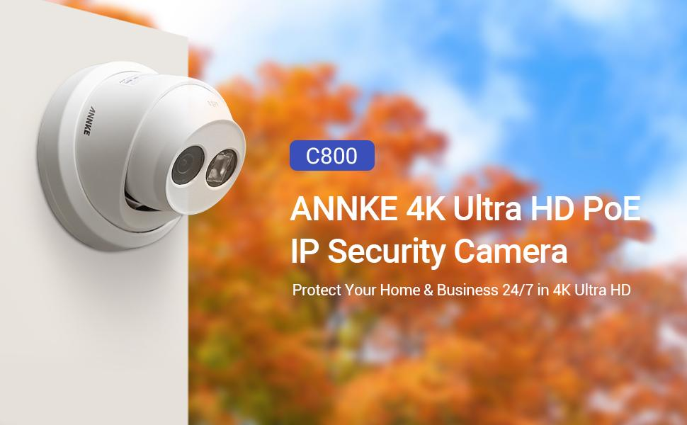 annke c800 PoE camera