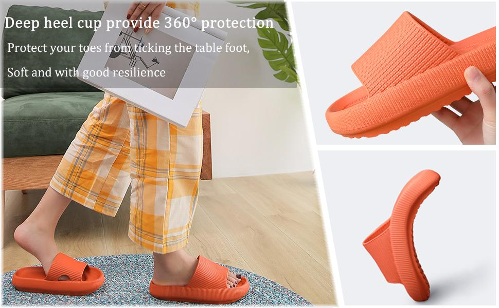 Relief your foot with the 2021 new pillow slides slippers