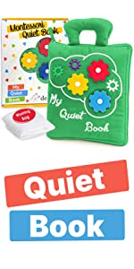 Educational Toy with 9 Sensory Toddler Activities