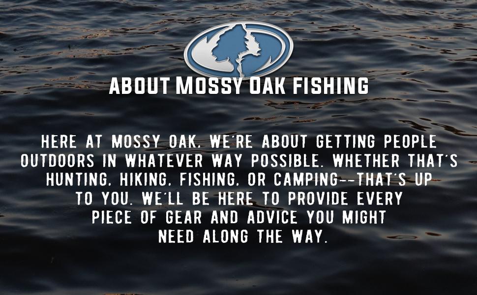 About Mossy Oak Fishing