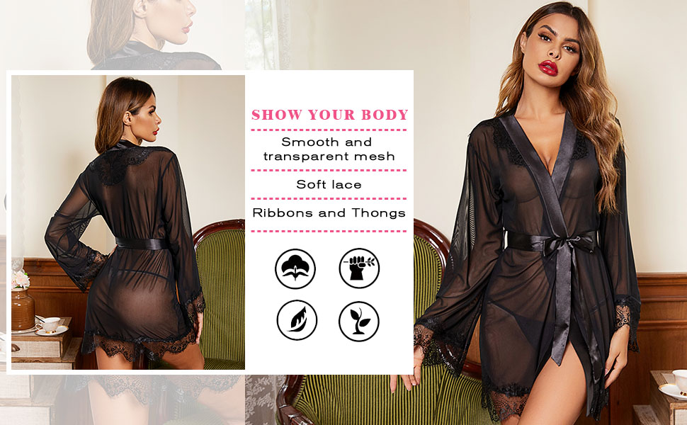show your body