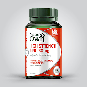 High Strength Zinc; Healthy Immune System; immune system; Cold sore remedies;