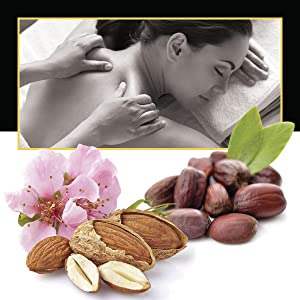jojoba and almond carrier oil