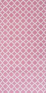 DII Lattice Print Tabletop Collection - Rose