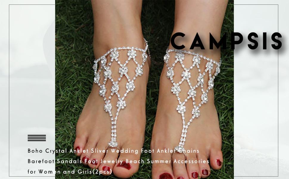 Toe Ring Ankle Bracelet Chain
